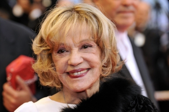 Jeanne Moreau, ici photographiée en 2008 au festival de Cannes. Photo AFP