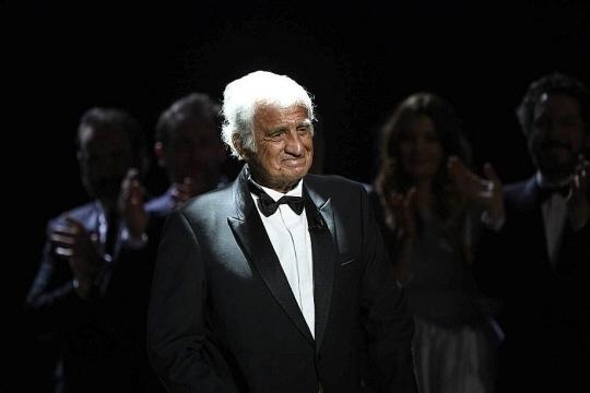 Jean-Paul Belmondo lors des César en 2004. Photo d'archives AFP1 /1