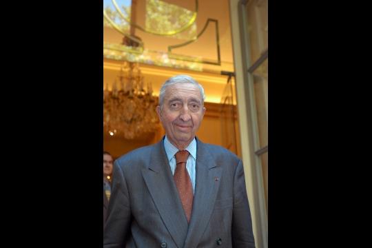 Jacques Calvet en 2004. Photo Stéphane DE SAKUTIN/AFP