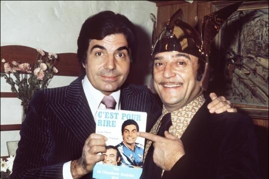 Le duo jadis le plus célèbre de France s'est définitivement éteint ce dimanche.   Archives AFP