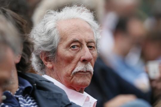 Jean Rochefort à Roland-Garros en 2012. Photo archive AFP
