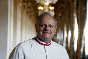 Le chef étoilé Joël Robuchon