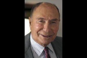L'industriel Serge Dassault