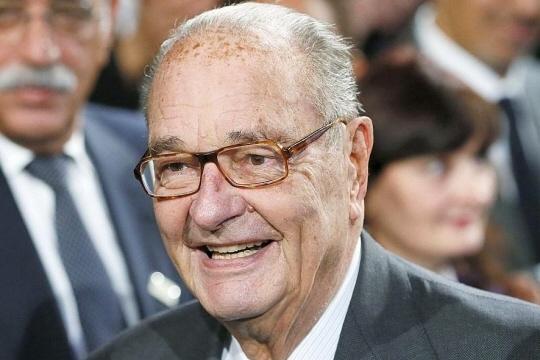 Le 21 novembre 2014, Jacques Chirac participait à la remise des prix de la fondation qui porte son nom. Photo archives AFP