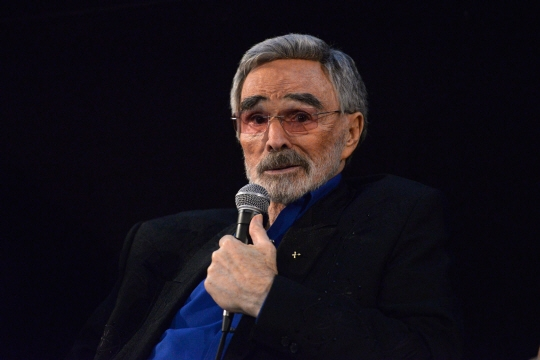 Burt Reynolds. Photo AFP