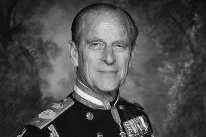 Le prince Philip, époux de la reine d'Angleterre Elizabeth II