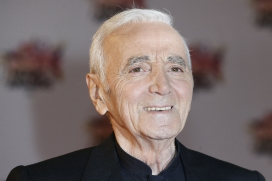 Charles Aznavour. Photo AFP