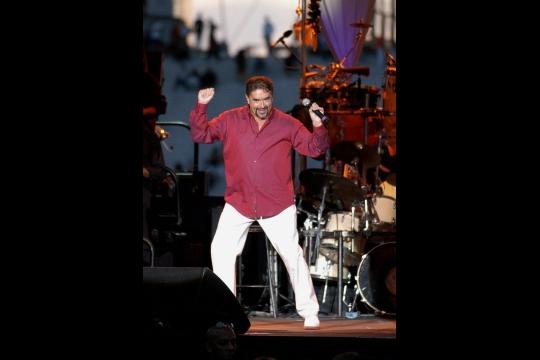 Eric Morena en 2003, lors de la Fête de la musique à Paris. Photo archives AFP