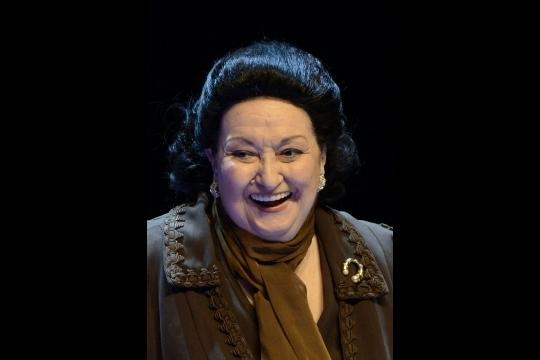 Montserrat Caballé en 2013, quelques mois après avoir subi une attaque cérébrale.   AFP/Gérard Julien