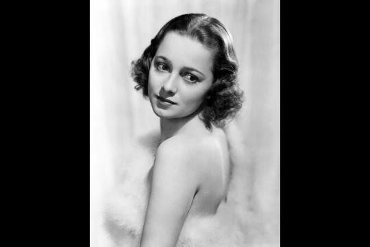 Olivia de Havilland Publicity Photo 1938 wikicommons/domaine public
