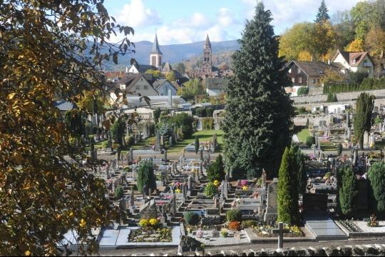 Le cimetière de Munster. Photo archives L'Alsace / Armelle Bohn