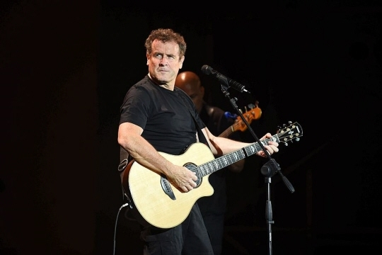 Johnny Clegg en juin 2014. Photo Fadel SENNA/AFP