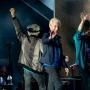 Charlie Watts, Keith Richards, Ronnie Wood et Mick Jagger à Londres en mai 2018 Par Raph_PH — StonesLondon220518-118, CC BY 2.0, https://commons.wikimedia.org/w/index.php?curid=69593160