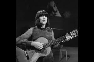La chanteuse Anne Sylvestre