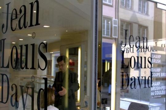 Un salon de coiffure Jean-Louis David à Strasbourg. Photo d'illustration Thomas WIRTH/AFP