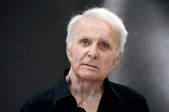 Robert Conrad en 2013. Photo Valery HACHE / AFP