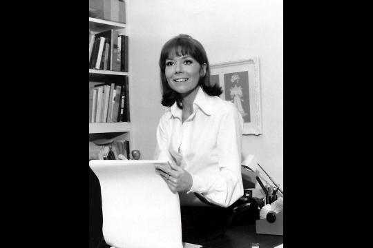 Diana Rigg en 1973. NBC Television / Public domain