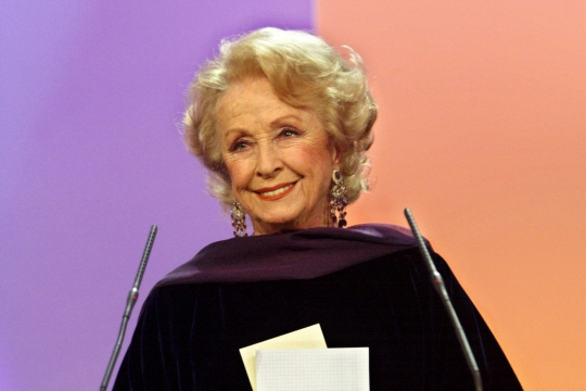 Danielle Darrieux, ici en 2002.  Photo AFP