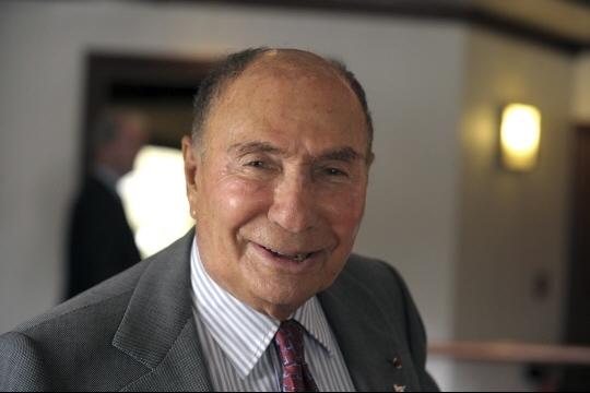 Serge Dassault a été entendu comme témoin assisté pendant l'instruction.  Photo AFP
