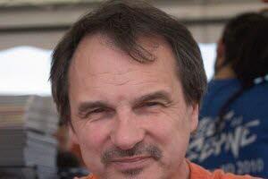 L'auteur de BD Frank Giroud