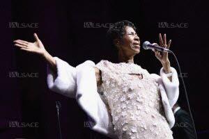 La chanteuse Aretha Franklin