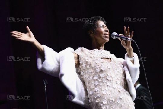 La chanteuse Aretha Franklin s'est éteinte. Photo AFP