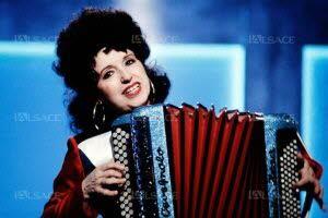 L'accordéoniste Yvette Horner