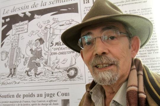 Le dessinateur Bernard Ferreira (Archives LRL/Photo Gilles WIRTZ)