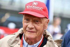 L'ancien pilote légendaire de F1 Niki Lauda