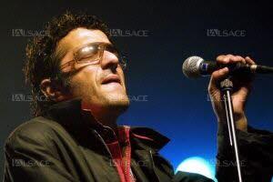 Le chanteur Rachid Taha